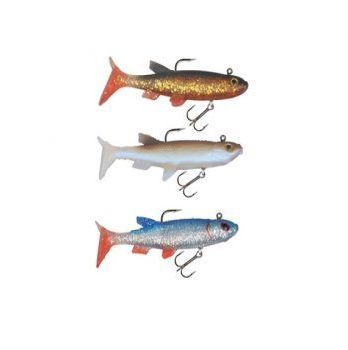 Super Natural Shad Jig 3 pack -Assortment 6