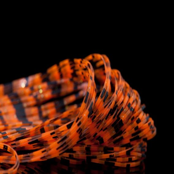 Grizzly Crazy Legs -orange with black bars
